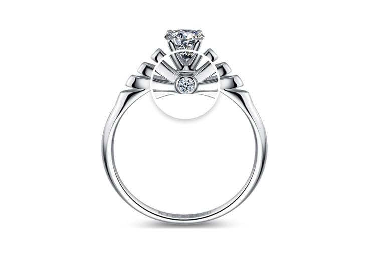 KISSRING童话系列仙蒂公主裙戒指